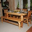 <strong>Moon Valley Rustic</strong> Moon Valley 5 Piece Dining Set