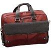 World Traveler Leather Laptop Briefcase