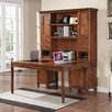 Turnkey Products LLC Companion Computer Desk with 2 Drawer Bases and Hutch