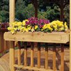"<strong>San Marino & Monterey Gazebo 6"" H x 3' 6"" W x 10"" D Flower Box</strong> by Handy Home"