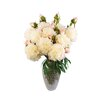 Laura Cole Chelsea Silk Floral Arrangement with Peony's in Mosaic Vase