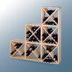 <strong>Wine Cellar Innovations</strong> Country Pine Cube 24 Bottle Wine Rack