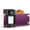 BELLA Bella 2 Slice Toaster and Brewer