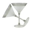 Golden Hill Studio Heirloom Swirl Martini Glass (Set of 2)