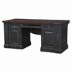 Bramble Now Roosevelt Executive Desk with Drop Leaf