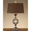 "John Richard Crystal 27"" H Table Lamp with Drum Shade"