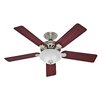 "Hunter Fans 52"" Five Minute® 5 Blade Ceiling Fan"