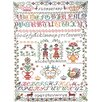 Mierco Cross-stitch Tea Towel (Set of 2)