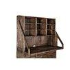 "Magnussen Furniture Adler 40.5"" H x 53"" W Desk Open Secretary Hutch"