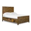 Braxton Panel Bed with Storage