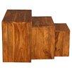Rustic Retreat Cubex Petite 3 Piece Nest of Tables
