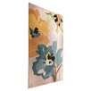 House Additions Infinite Seasons Teal & Ochre Tufted Rug