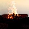 Fire Pit Art Scallops Fire Pit
