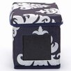 nexxt Design Write On Damask Printed Fabric Storage Boxes (Set of 3)