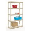 Nexel Melamine Laminate Rivet Lock 4 Shelf Shelving Unit