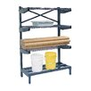 "Nexel Cantilever 72"" H 4 Shelf Shelving Unit"