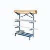 "Nexel 24"" Straight Arm Cantilever Rack"