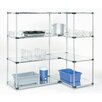 Nexel Solid 4 Shelf Shelving Unit