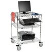 Nexel 3 Tier Computer Workstation Unit