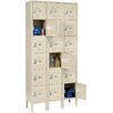 Nexel 6 Tier 3 Wide 18 Door Locker