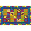 Flagship Carpets ABC Words Kids Rug
