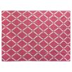 Rug Expressions Flat Weave Pink/Ivory Area Rug