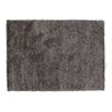Rug Expressions Lux Shags Gray Area Rug