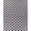 Rug Expressions Flat Weave Plum/White Area Rug