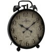 EC World Imports Urban Handcrafted Oversized Metal Table Clock