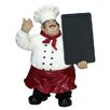 EC World Imports Casa Cortes French Chef Figurine