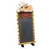 EC World Imports Premium Restaurant Tall Standing Chef with Chalkboard Menu