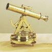 EC World Imports Decorative Replica Tabletop Telescope and Compass