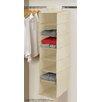 Linen Depot Direct Beige 7-Tier Hanging Shelf