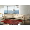 J&M Furniture Italian Leather Sectional Left Hand Facing