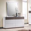 J&M Furniture Sanremo Dresser and Mirror