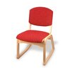 "Holsag Campus Custom 18"" Beechwood Classroom 2-Position Chair"