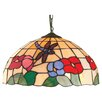 Loxton Lighting Beige Dragonfly Tiffany Light Pendant Shade
