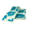 "MUmodern 16"" x 24"" Towel in Blue Poppy (Set of 2)"