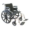 Karman Healthcare Extra Wide Heavy Duty Deluxe Bariatric Wheelchair