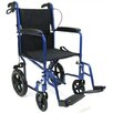 "<strong>Karman Healthcare</strong> 19"" Ultra Lightweight Transport Wheelchair with Hand Brake"