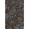 <strong>Structures Chocolate Floral Rug</strong> by Dalyn Rug Co.
