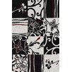 <strong>Studio Black Patchwork Rug</strong> by Dalyn Rug Co.