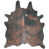 Panamerican Logix, Corp. Natural Cowhide Brown Area Rug