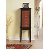 CTE Trading Terence 6 Drawer Jewelry Armoire with Mirror