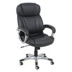 Global Furniture High-Back Leather Executive Chair with Arms