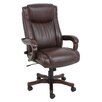 Global Furniture High-Back Wooden Executive Chair with Arms