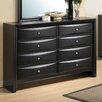 Glory Furniture 8 Drawer Dresser