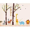 Pop Decors Party in the Woodland Removable Vinyl Art Wall Decal