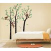 Pop Decors Trees and Monkeys Removable Vinyl Art Wall Decal