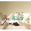 Pop Decors Daisy Flowers Removable Vinyl Art Wall Decal